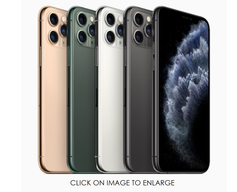 2 X iPhone 11 colours