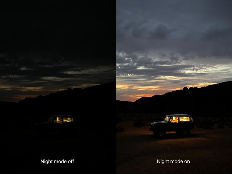6A NIGHT MODE ON