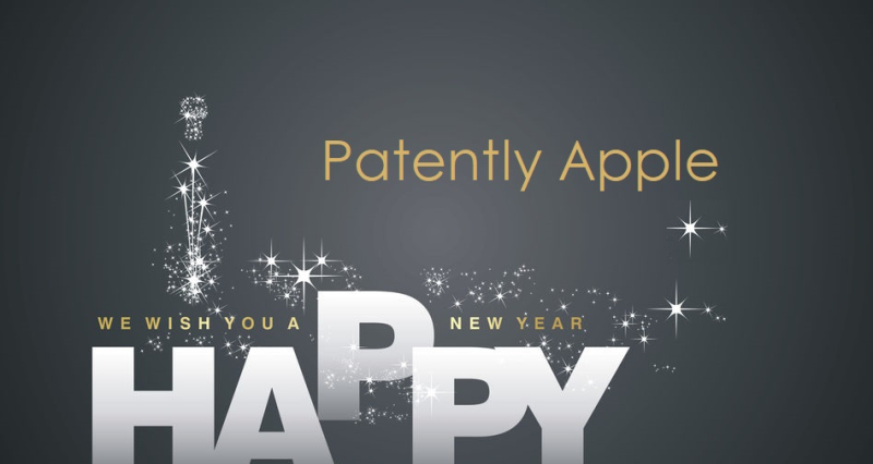 1  Cover - Happy New Year from Patently Apple