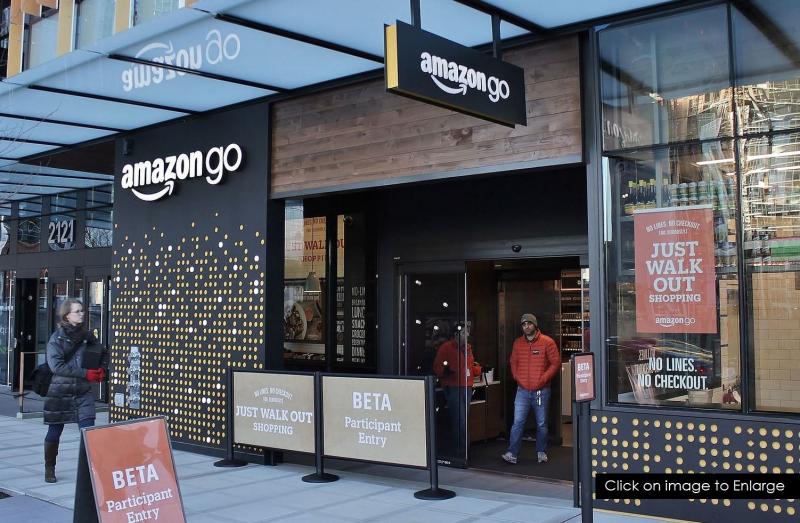 1 X cover Amazon Go
