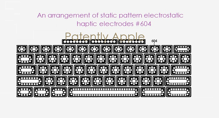 1 Cover static pattern electrostatic haptic electrodes