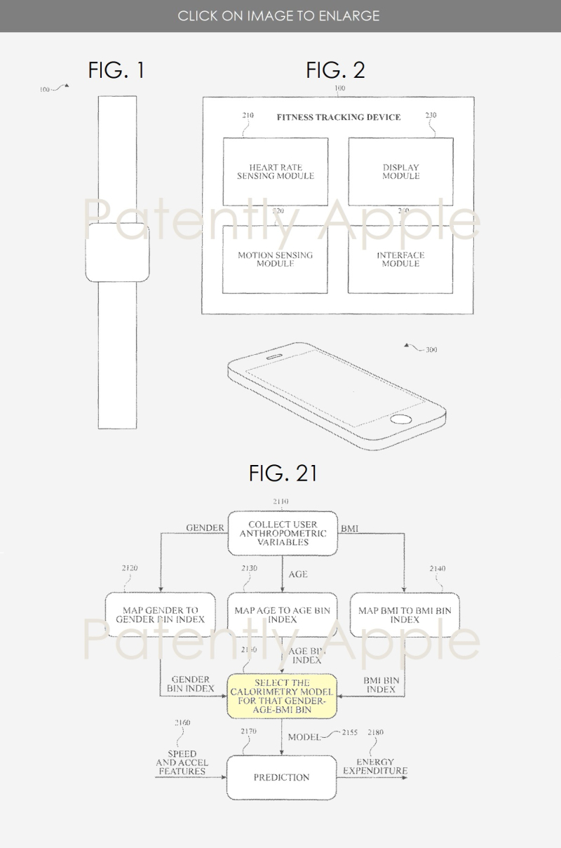 apple wins three patents covering the iphone and fitness tracking apple watch focused on