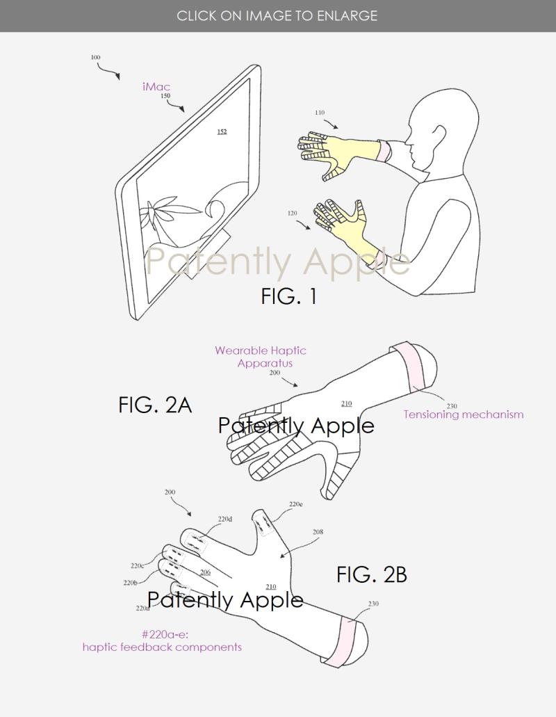 2 Apple MR Haptic Gloves
