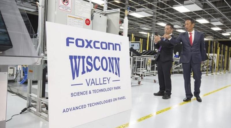 2x foxconn plant in Wisconsin