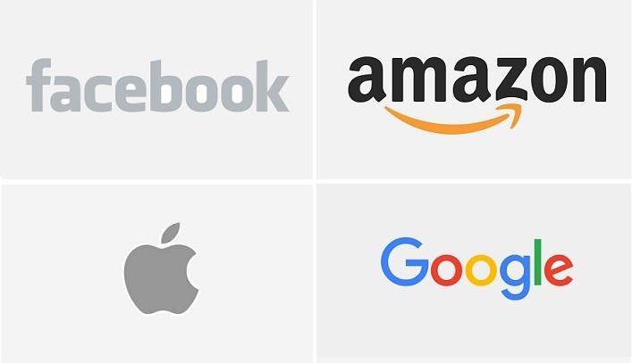 1 X cover Apple  facebook  google  amazon logos