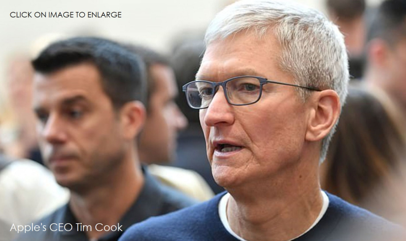 1 X COVER Apple CEO TIM COOK