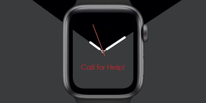 1 X apple watch message