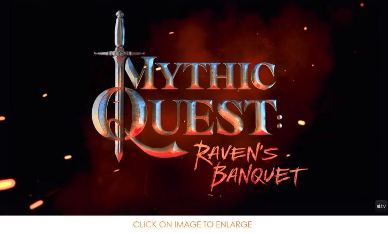1 x cover Mythic Quest ...