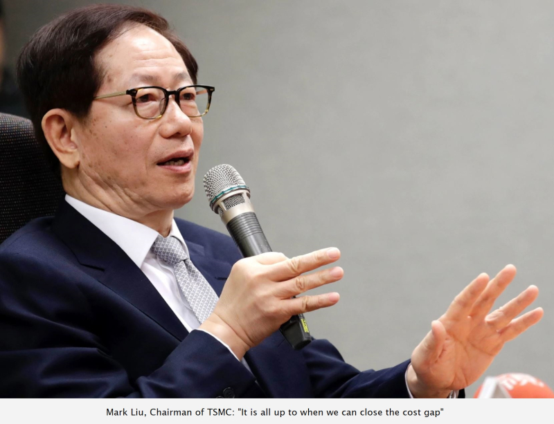2 x TSMC Mark Liu  Chairman of TSMC