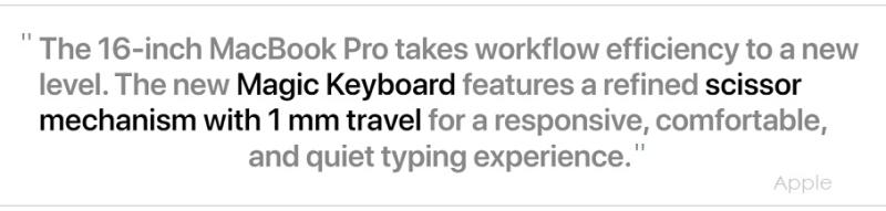 2 Apple's Macbook Pro 16 inch