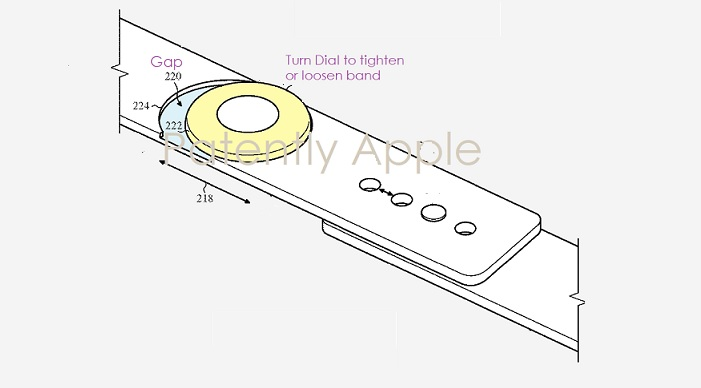 1 Cover new dial control for Apple Watch patent figure