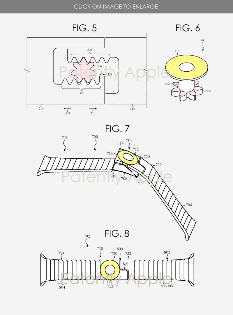 3 Apple Watch new tightening mechanism