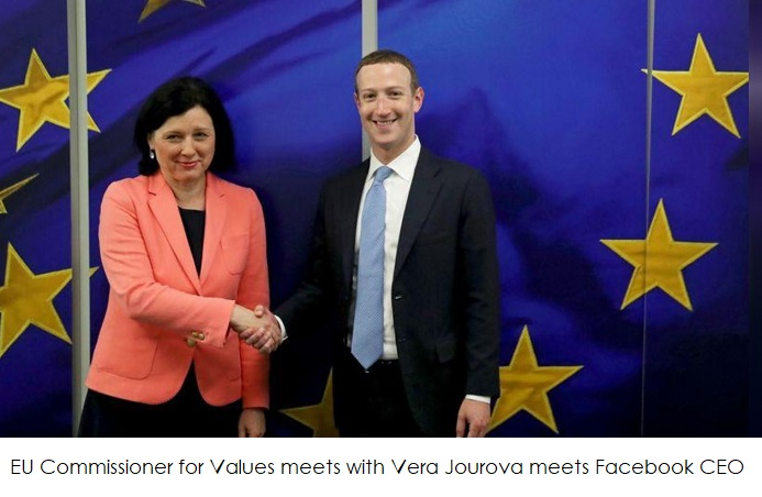 2 Facebook CEO in Europe for meeting on AI and more