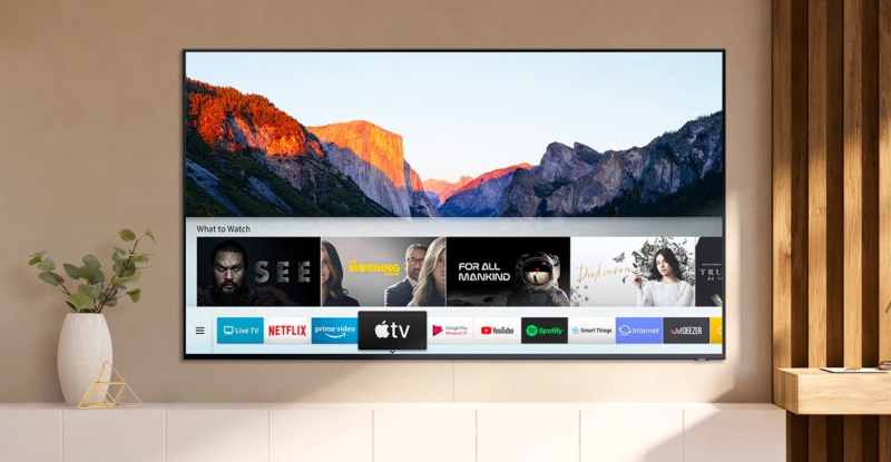 1 cover apple tv+ on Samsung