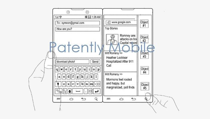 1 x  Cover Samsung dual Display smartphone