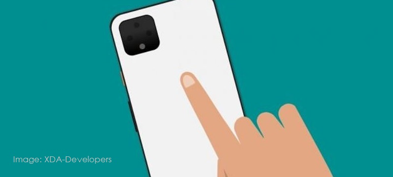 1 x cover -  pixel double tap backside camera feature coming