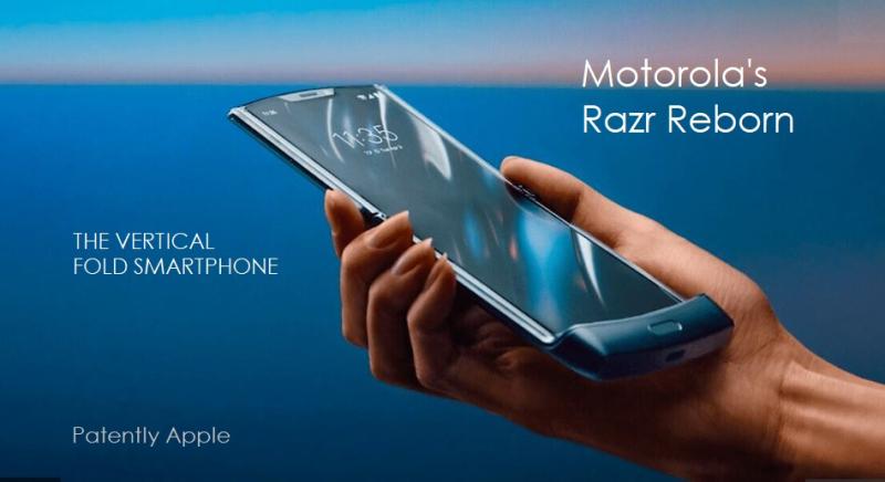 1 x Cover Moto Razr foldable phone