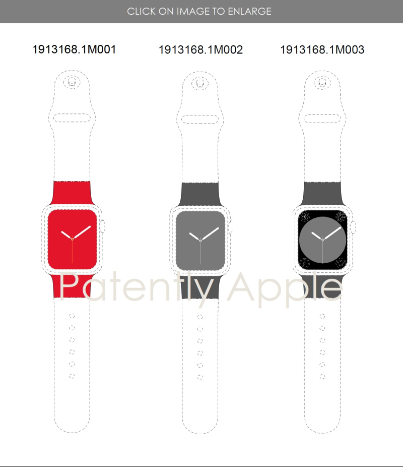 2 Apple Watch  3 design patents in Hong Kong