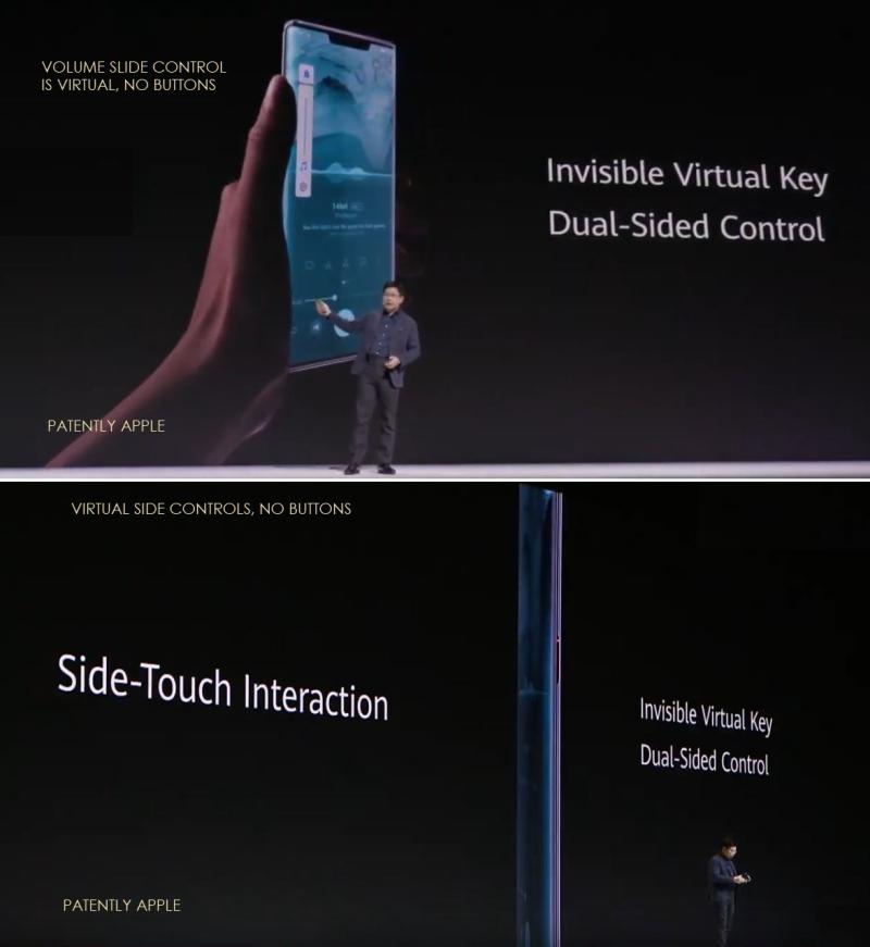 2 X Huawei volume side controls