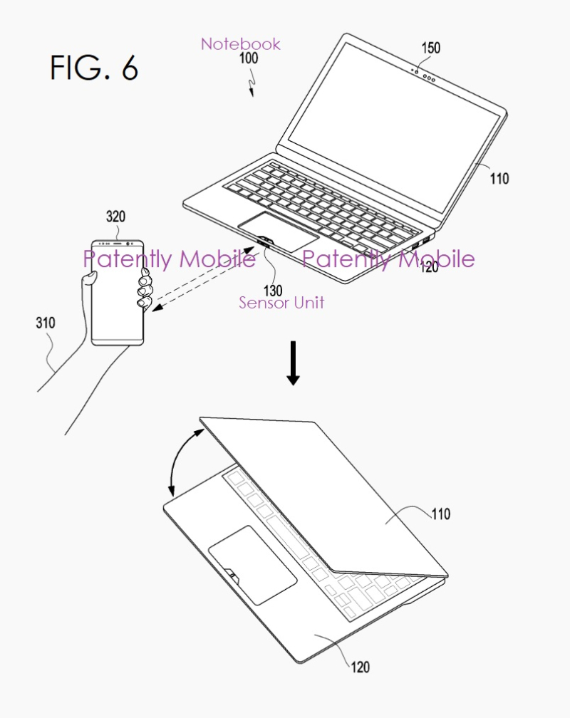 3x Samsung notebook auto-hinge