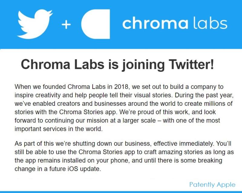 2 x chroma labs announcement