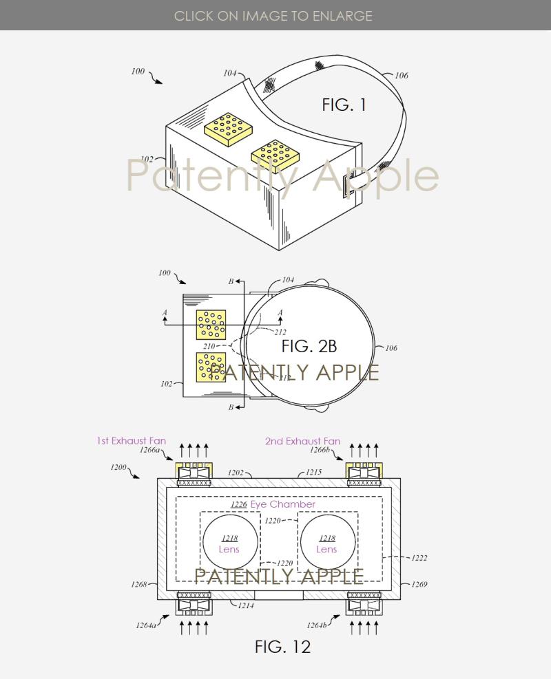 2 x APPLE HMD THERMAL REGULATING SYSTEM