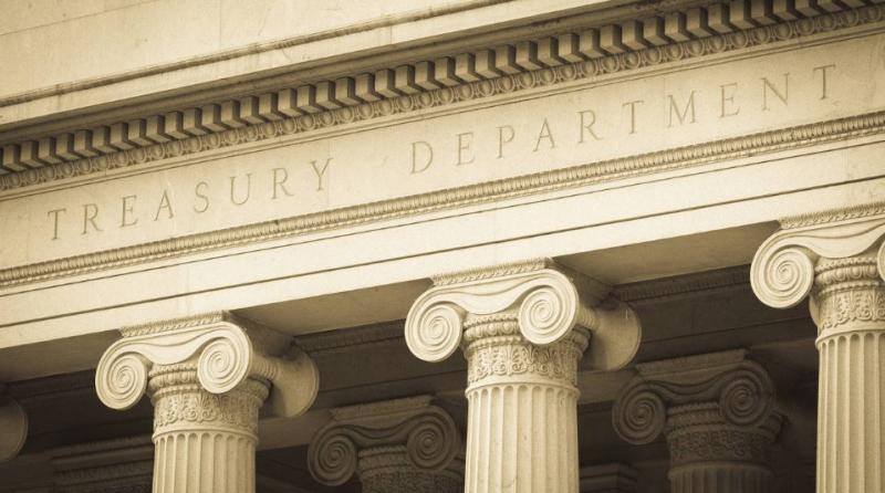 1 cover U.S. Treasury dept
