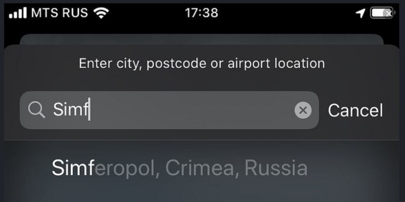 1 cover Apple Crimea Russia change