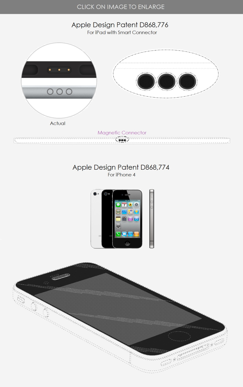 4 x Apple design patent granted for Apple Store BENCH