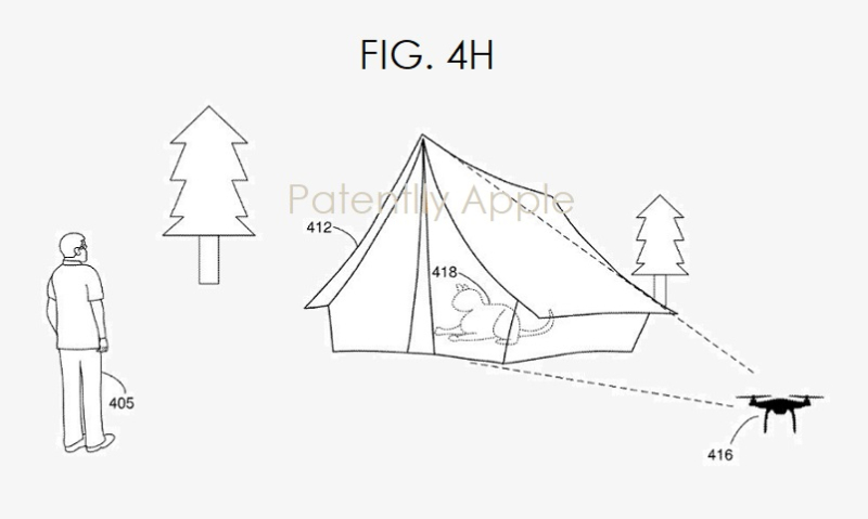 4 drone tells U what is behind a wall  inside a tent etc