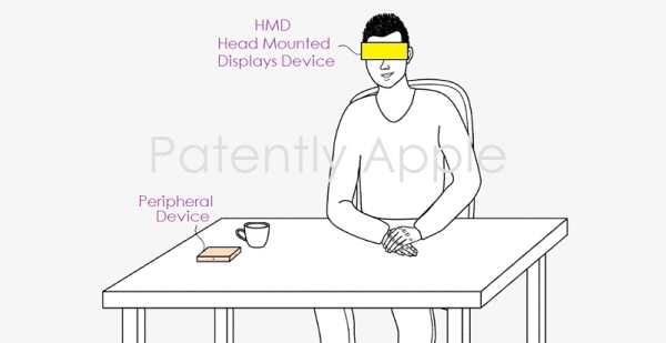 Apple Invents a Peripheral Device for a Future Headset that will enable users to move objects via a Virtual Trackpad