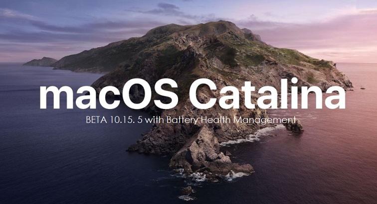 1 x Cover macOS catalina