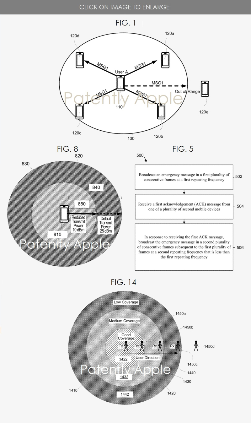 2 Apple patent  emergency contact feature