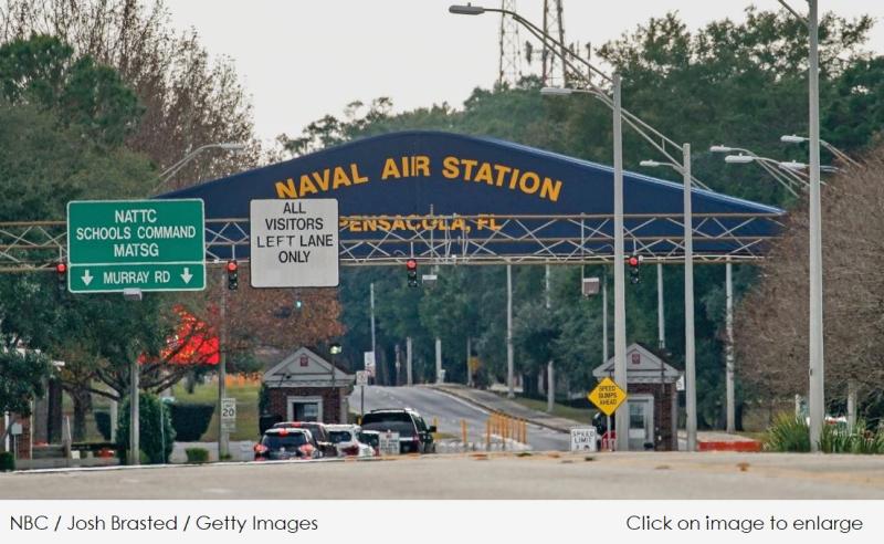 1 x cover Pensacola Florida naval air station