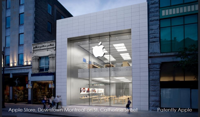 1 X Cover Montreal Apple Store on St. Catherine St.