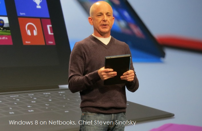 1 Cover -  Chief Steven Sinofsky at time of Windows 8