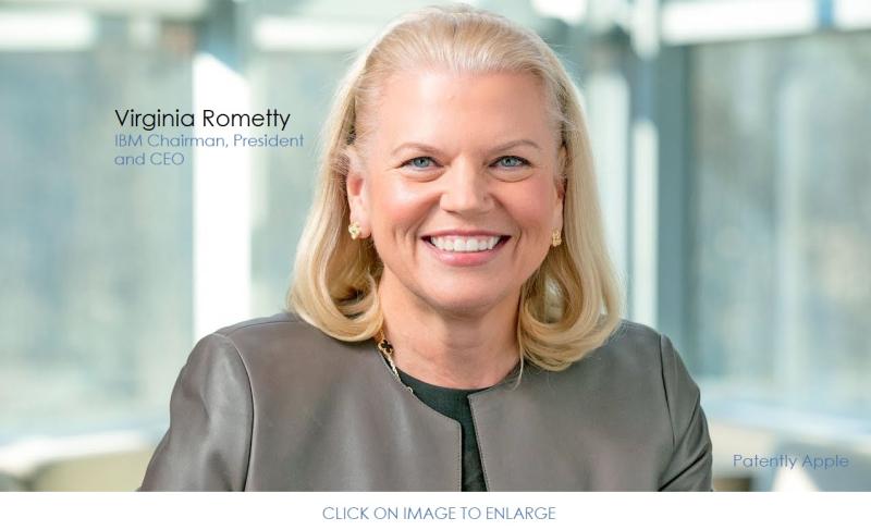 2 X Virginia Rometty IBM CEO
