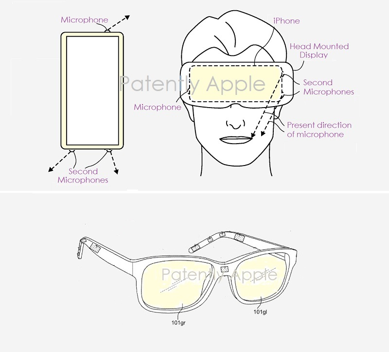 3 x Apple  2 kinds of glasses type of accessory for iphone