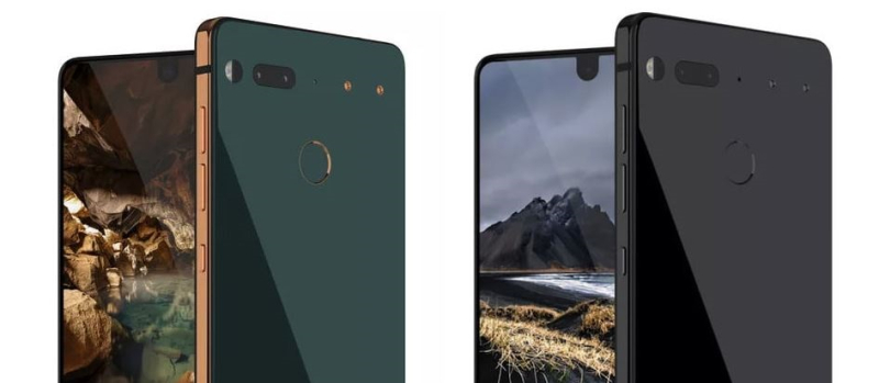 1 Cover Graphic of Essential smartphone