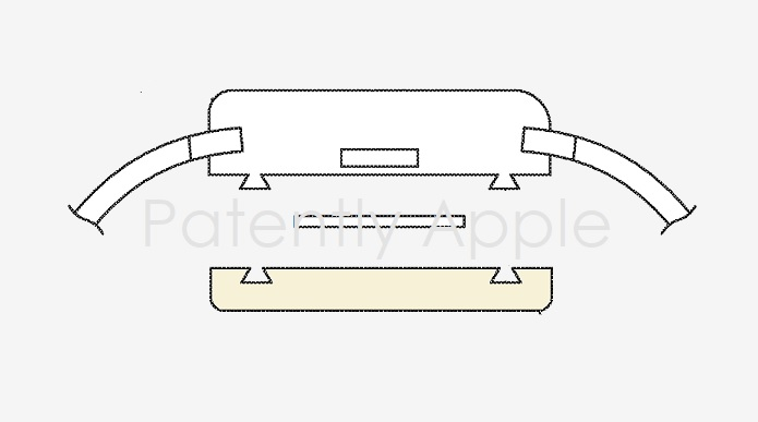 1 Cover apple watch add on module patent