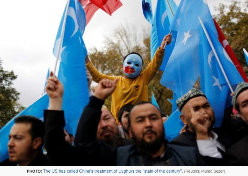 6 China's treatment of Uyghurs  Stain of the Century - Reuters Murad Sezer
