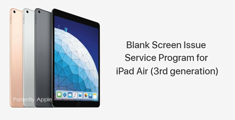 1 X Cover Apple iPad Air service program mar 7  2020