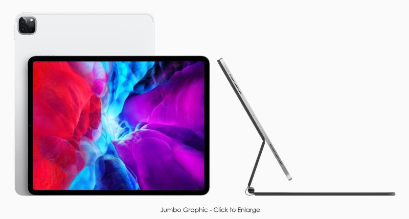 2 X iPad Pro with new keyboard  trackpad