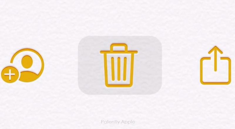2 x trackpad cursor from circular dot to full icon rectangular application