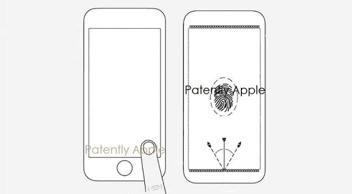 1 cover an Apple Fingerprint patent