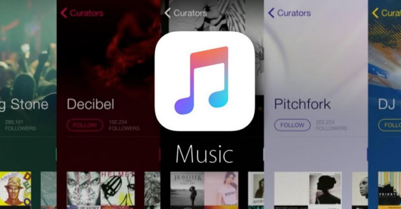 1 x cover Apple Music service imagery