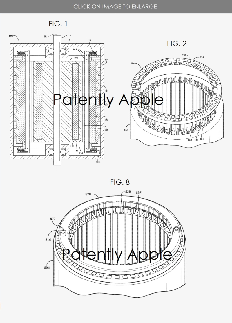 4 Apple Electric Motor