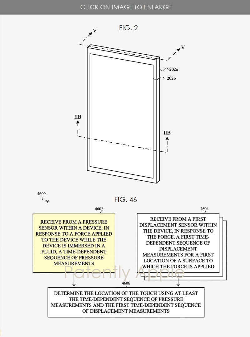 2 Apple patent for idevices functioning under water - figs 2a  46