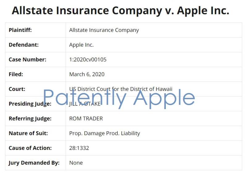 2 x allstate insurance v apple