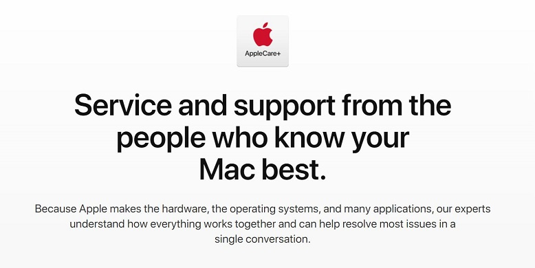 2 Apple Care